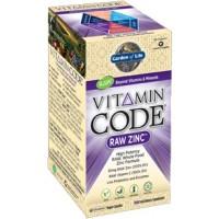 Garden of Life Vitamin Code Raw Zinc 60 Vege Caps