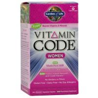 Garden of Life Vitamin Code Women's Formula 240 Vege Caps