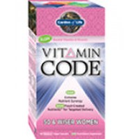 Garden of Life Vitamin Code 50 and Wiser Womens Formula