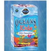 Garden of Life Oceans 3 Kids DHA Chewables 120 Chewable Gels