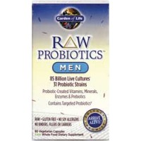 Garden of Life Raw Probiotics Men 90 Vege Caps
