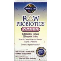 Garden of Life Raw Probiotics Women 90 Vege Caps