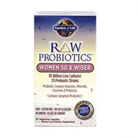 Garden of Life Raw Probiotics Women 50 and Wiser 90 Vege Caps
