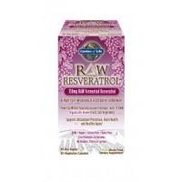 Garden of Life Raw Resveratrol 350mg 60 Vege Caps