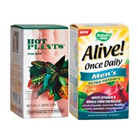 Hot Plants for Him + Alive 1 Daily Men