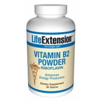 Life Extension Vitamin B2 30 grams