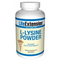 Life Extension L-Lysine  300 grams
