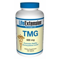 Life Extension Tmg (trimethylglycine) 500mg 180 Tabs
