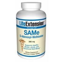 Life Extension SAMe (S-adenosylmethionine) 200 mg 50 Tabs