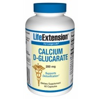 Life Extension Calcium D-Glucarate 200 mg 60 Caps