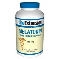 Life Extension Melatonin Timed Release 300 mcg 100 Caps
