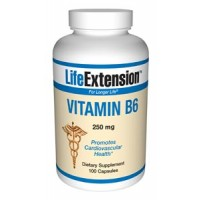 Life Extension Vitamin B6 250mg 100 Caps