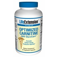 Life Extension Optimized Carnitine with Glycocarn 60 Vegecaps