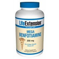 Life Extension Mega Benfotiamine 250mg 120 Vegecaps