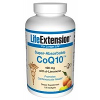 Life Extension Super-Absorbable CoQ10 with d-Limonene 100 mg 100SG