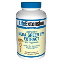 Life Extension Mega Green Tea Extract (decaffeinated) 100 Vegecaps