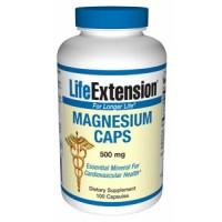 Life Extension Magnesium CAPS 500mg 100 Vege Caps