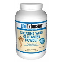 Life Extension Creatine Whey Glutamine (Vanilla) 1000 grams
