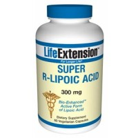 Life Extension Super R-Lipoic Acid 300mg 60 Vege Caps