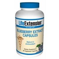 Life Extension Blueberry Extract 60 Vegecaps