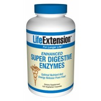 Life Extension Enhanced Super Digestive Enzymes 100 Vegecaps