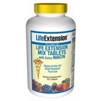 Life Extension Mix with Extra Niacin 315 Tabs
