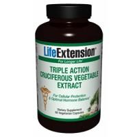 Life Extension Triple Action Cruciferous Vegetable Extract 60 Vege Caps