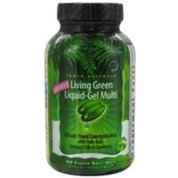 Irwin Naturals Women's Living Green Liquid-Gel Multi 90 Gels