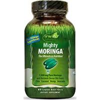 Irwin Naturals Mighty Moringa 60 Liquid Soft Gels