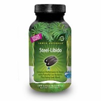 Irwin Naturals Steel Libido for Men (Made with 10 Potent Sex Bio-Agents) Value Size 150 Liquid Soft Gels