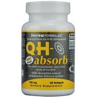 Jarrow Formulas QH-absorb Ubiquinol CoQ10 Antioxidant