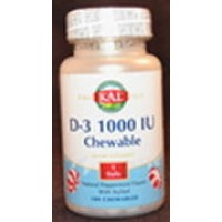 Kal D-3 1000 IU Peppermint Flavored 100 Chews