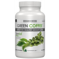 100% Pure Kleissinger Labs Green Coffee Bean Extract (400mg Per 2 Caps) 60 Caps with Svetol