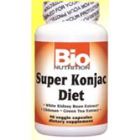 Bio Nutrition Super Konjac Diet 90 Vege Caps
