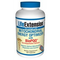 Life Extension Mitochondrial Energy Optimizer w/BioPQQ 120 Caps