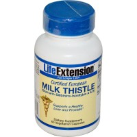 Life Extension Certified European Milk Thistle 60 Vege Caps
