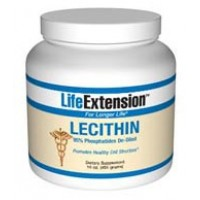 Life Extension Lecithin (95% Phosphatides de-oiled) 16oz granules