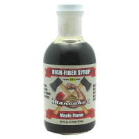 Mancakes High-Fiber Syrup Maple Flavored 16 Oz