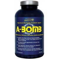 MHP A-Bomb Multi-Pathway Anabolic Agent 224 Tabs