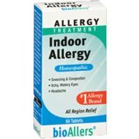 Natra-Bio Bioallers Indoor Allergy 60 Tablets