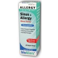 Natra-Bio Bioallers Sinus and Allergy Relief Nasal Spray 0.8 Fl Oz