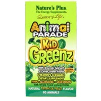 Nature's Plus Animal Parade Kid Greenz Tropical Fruit 90 Chews