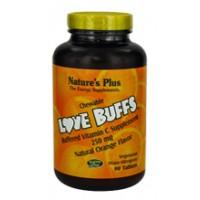 Nature's Plus Love buffs Chewable Vitamin C 250mg 90 Tabs