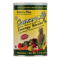 Nature's Plus Source of Life Energy Shake 1.1 lbs