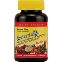 Nature's Plus Source of Life Multi Vitamin and Mineral Mini-Tabs 90 Tabs