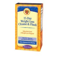 Nature's Secret 15 Day Weight Loss Cleanse and Flush 60 Tabs