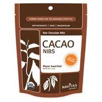 Navitas Naturals Raw Cacao Nibs (Certified Organic) 8 Oz