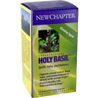 New Chapter Super Critical Holy Basil 60 Soft Gels