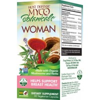 Fungi Perfect Host Defense MycoBotanicals Woman 60 Vege Caps
