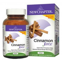 New Chapter Cinnamon Force 60 Soft Gels